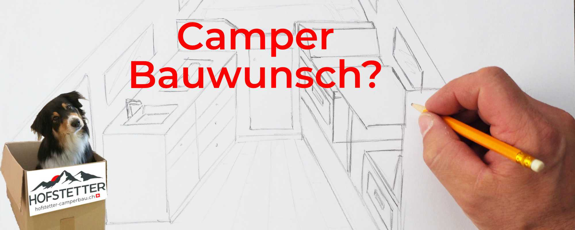 Skizze Camper