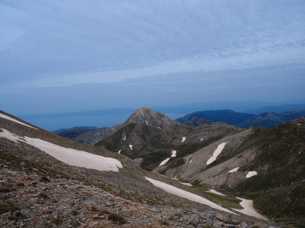 Berglandschaft Peloponnes