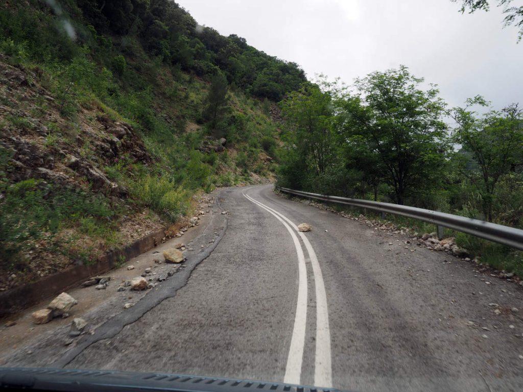 Landstrasse Griechenland