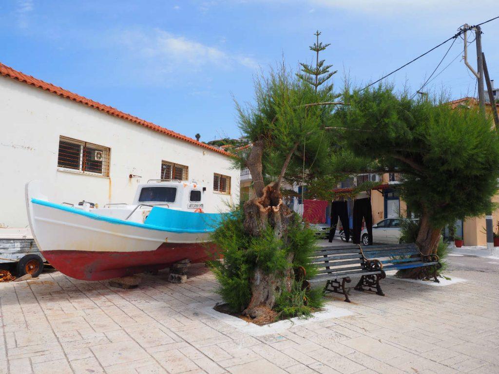 Griechenland Hausboot
