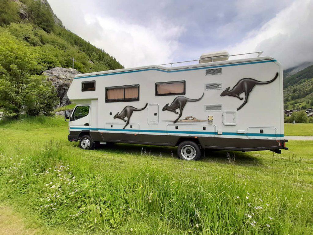 Camper Ausflug