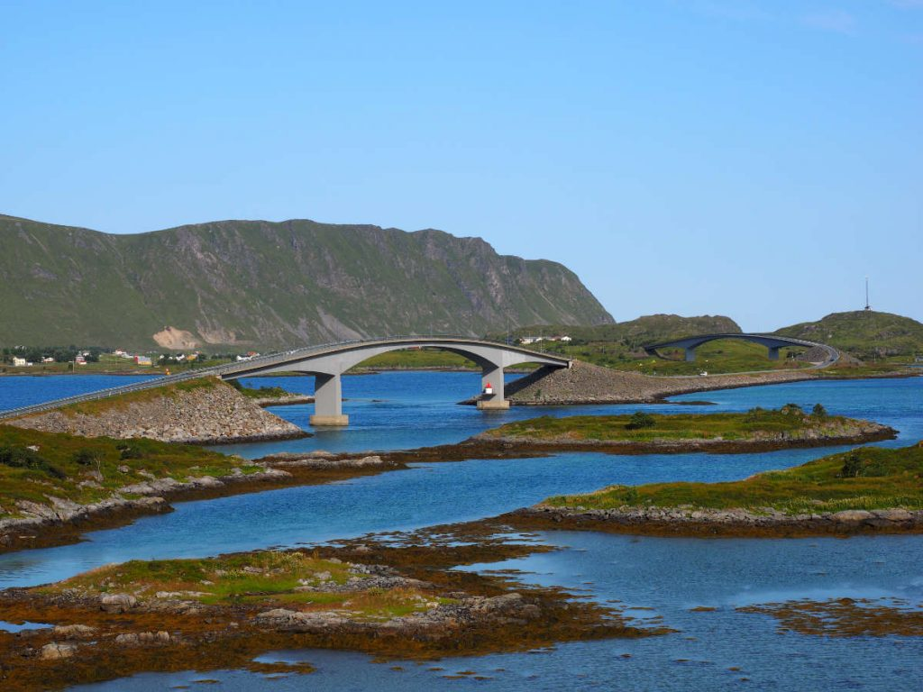 Fredvang Brücke