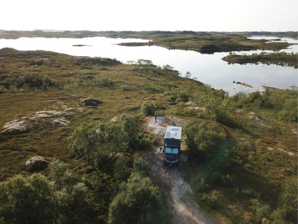 Unterwegs Camper Norwegen