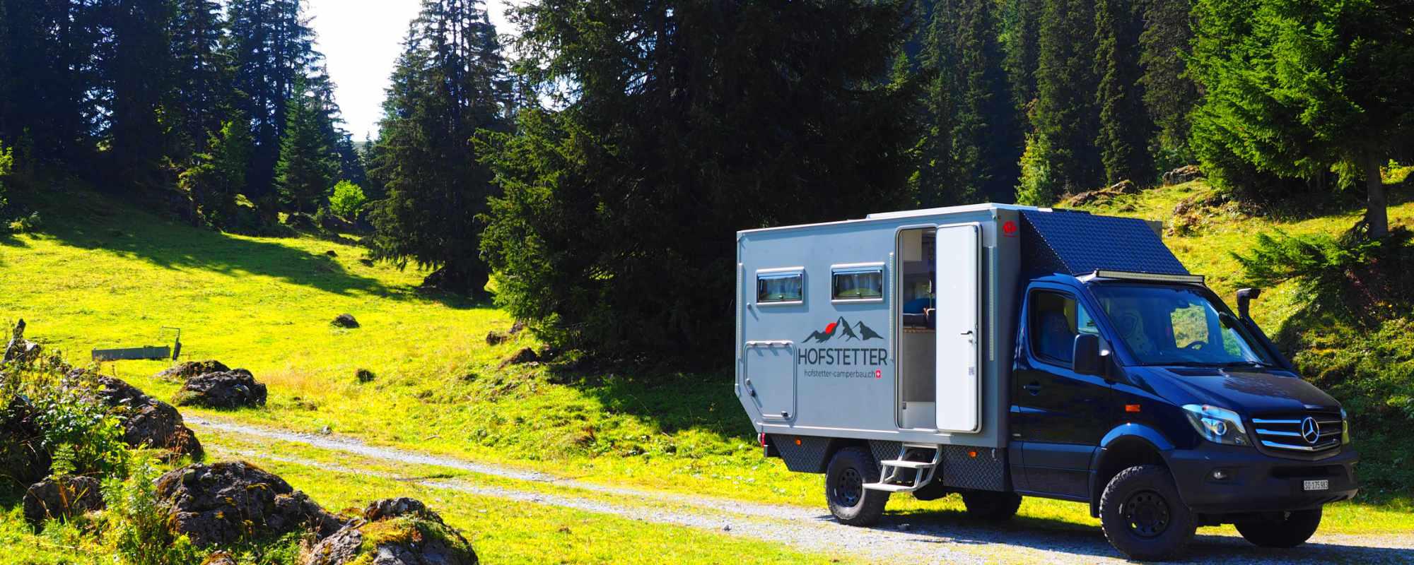 Hofstetter Camper gute Fahrt